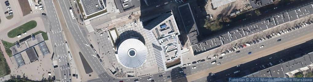 Zdjęcie satelitarne Trajekto