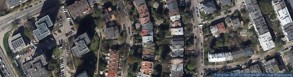 Zdjęcie satelitarne Trak Auto Gozdecki Borys Muszyńska Monika