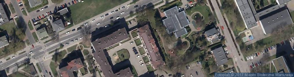 Zdjęcie satelitarne Trakt Jacek Bajor