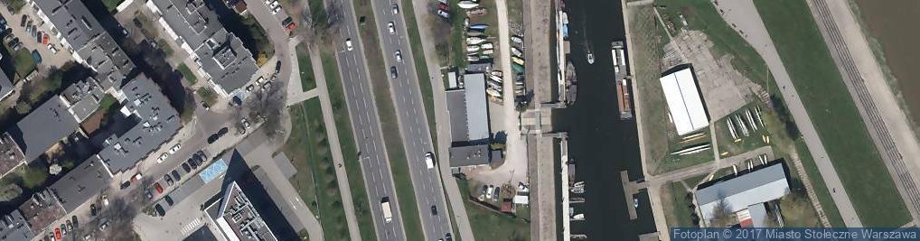 Zdjęcie satelitarne Trans Foto