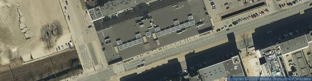 Zdjęcie satelitarne Trimble Export Limited Spółka Prawa Amerykańskiego Przedstawicielstwo w Polsce