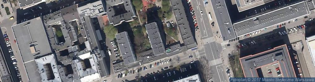 Zdjęcie satelitarne Trzaska Bartłomiej