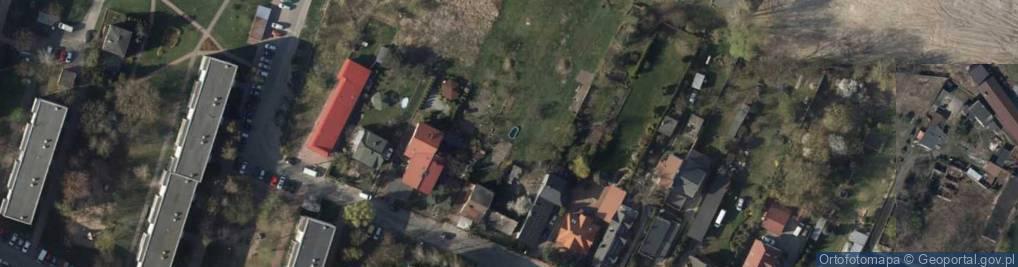 Zdjęcie satelitarne Trzy Szwy Pracownia Krawiecka Jadwiga Kubiak