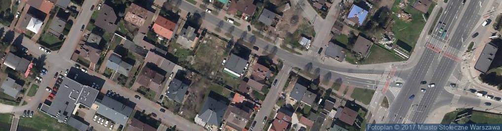 Zdjęcie satelitarne Tyrsa Sp. z o.o.