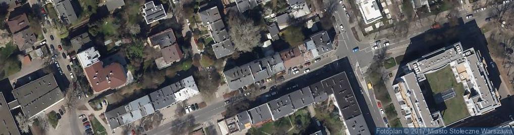 Zdjęcie satelitarne U Ani i Waldka