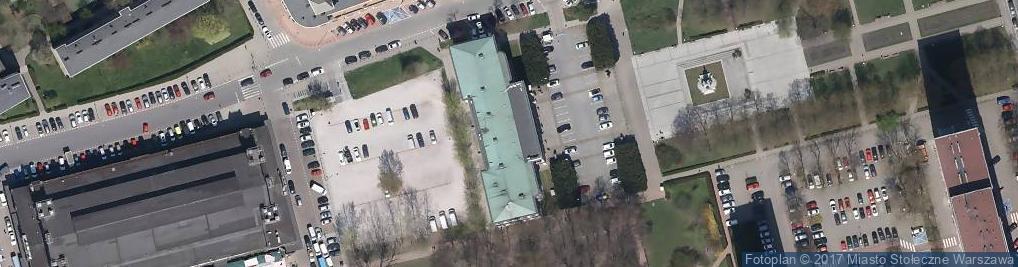 Zdjęcie satelitarne Uczelnia Warszawska im Marii Skłodowskiej Curie