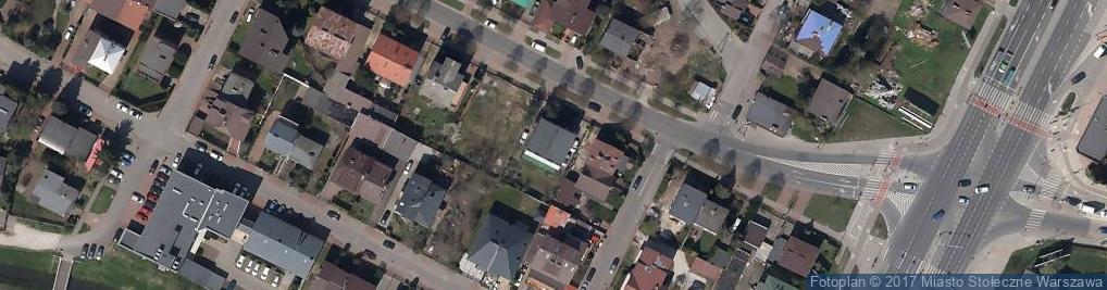 Zdjęcie satelitarne Ukraińskie Towarzystwo Historyczne w Polsce