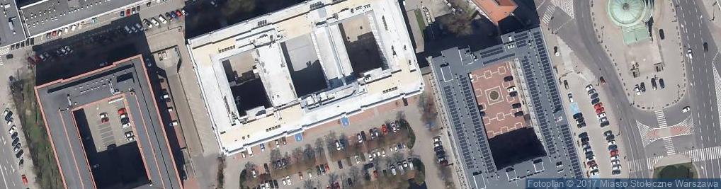 Zdjęcie satelitarne Urząd do Spraw Kombatantów i Osób Represjonowanych