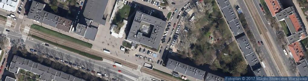 Zdjęcie satelitarne Urząd Dzielnicy Żoliborz
