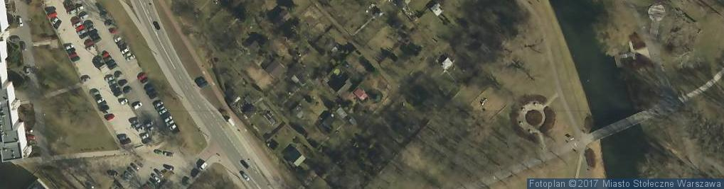 Zdjęcie satelitarne Usługi Gastronomiczne i Catering