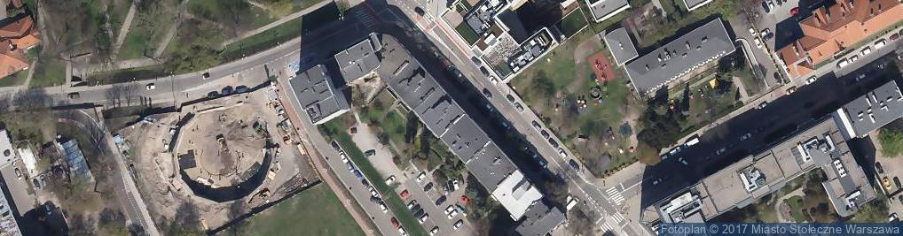 Zdjęcie satelitarne Usługi Krawieckie