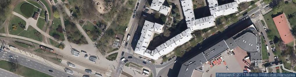 Zdjęcie satelitarne Usługi Kserograficzne