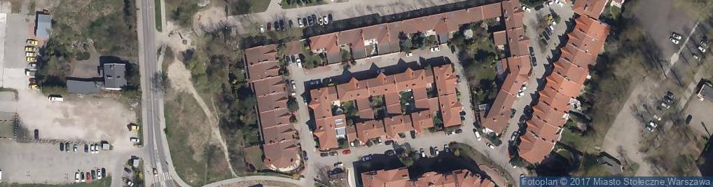 Zdjęcie satelitarne Usługi Medyczne DR N Med