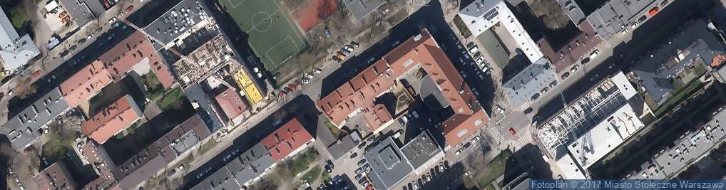 Zdjęcie satelitarne Usługi Porządkowe