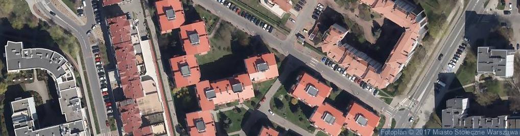 Zdjęcie satelitarne Usługi Projektowania Budynków Grzegorz Raczkiewicz