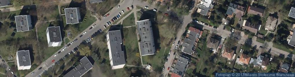 Zdjęcie satelitarne Usługi Transportowe Lepuś