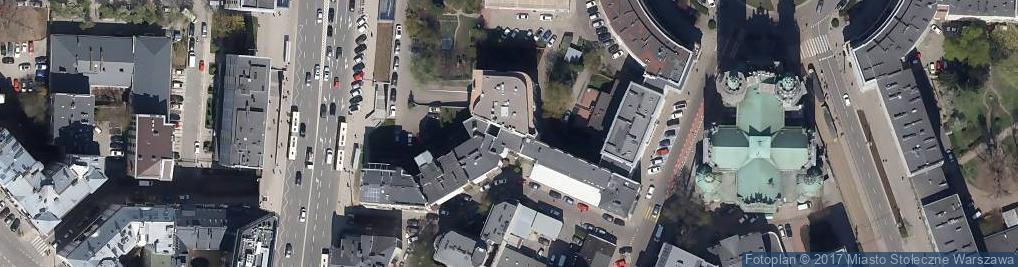 Zdjęcie satelitarne Vstack Europe z Siedzibą w Warszawie