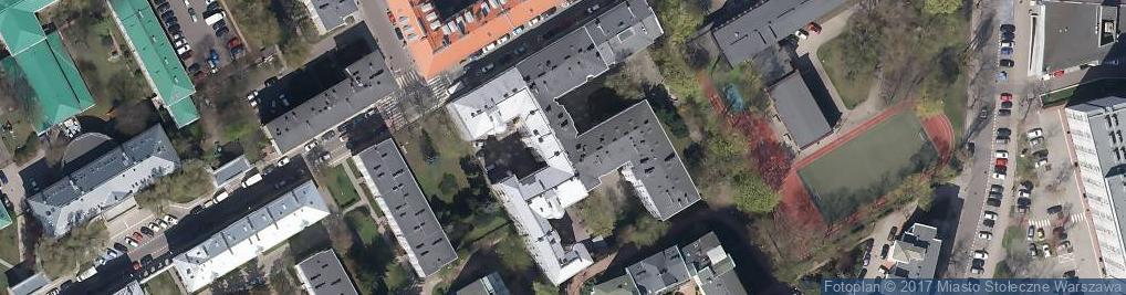 Zdjęcie satelitarne Warsawflats Sp. z o.o.