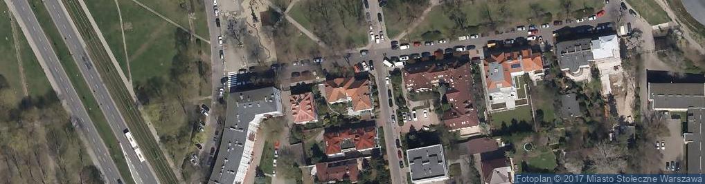 Zdjęcie satelitarne Warszawa Kabel Technica