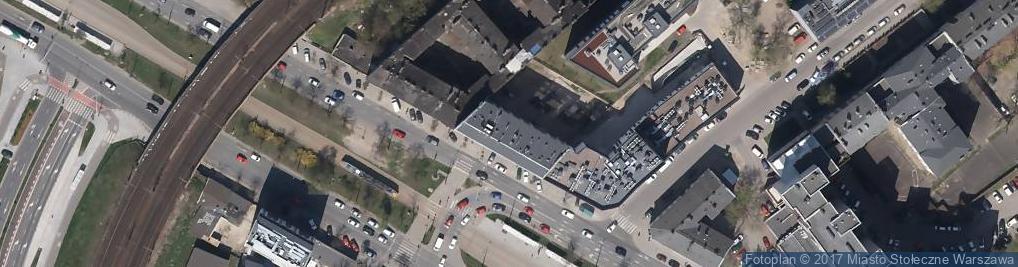Zdjęcie satelitarne Wawa Express Agnieszka Wąsowska