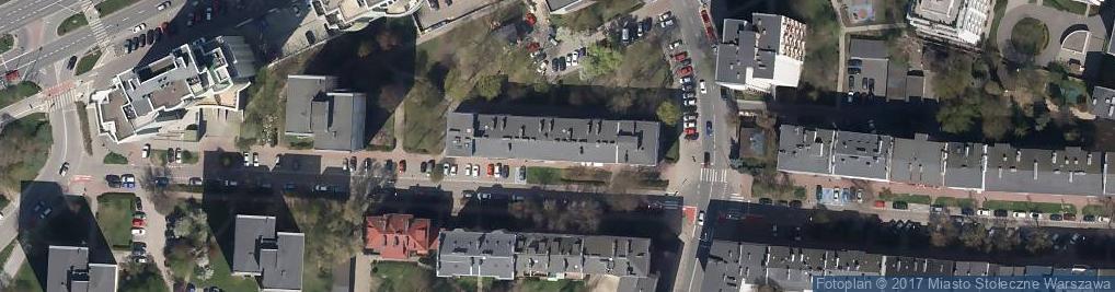 Zdjęcie satelitarne Wspólnota Mieszkaniowa Sękocińska 16