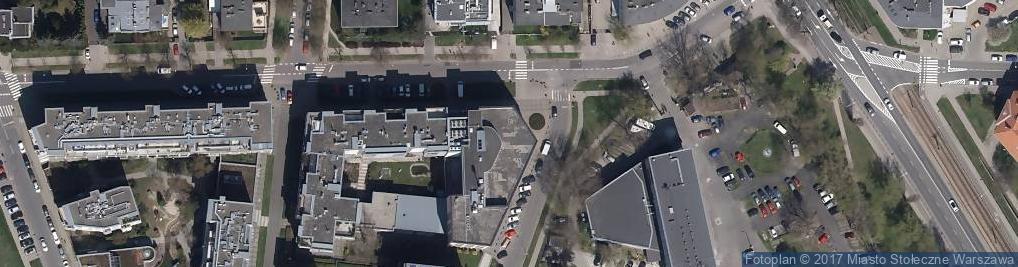 Zdjęcie satelitarne Wydawnictwo CH Beck
