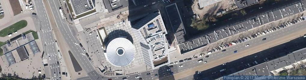 Zdjęcie satelitarne Wyższa Szkoła Promocji