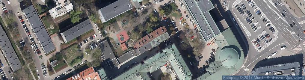 Zdjęcie satelitarne XVII Liceum Ogólnokształcące im Andrzeja Frycza Modrzewskiego