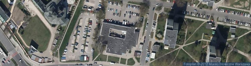 Zdjęcie satelitarne Zakład Energetyki Cieplnej Mokotów OE