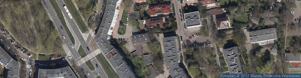 Zdjęcie satelitarne Zakład Energetyki Cieplnej Żoliborz OK 2
