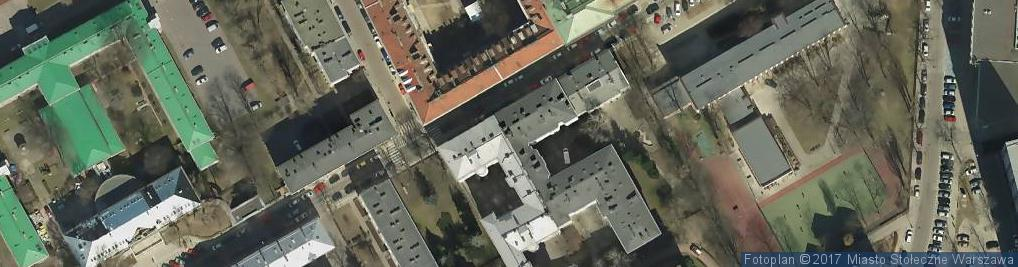Zdjęcie satelitarne Zakręty Ośrodek Szkoleniowy