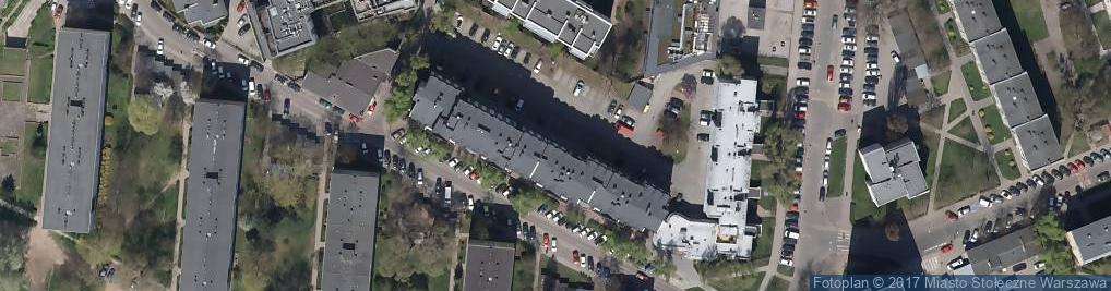 Zdjęcie satelitarne Zielona Budka S.A.