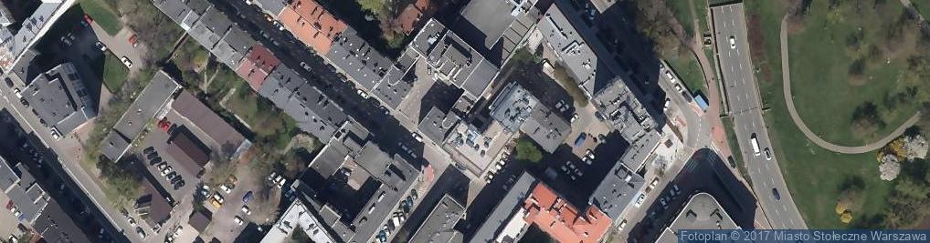 Zdjęcie satelitarne ZP Poligrafia