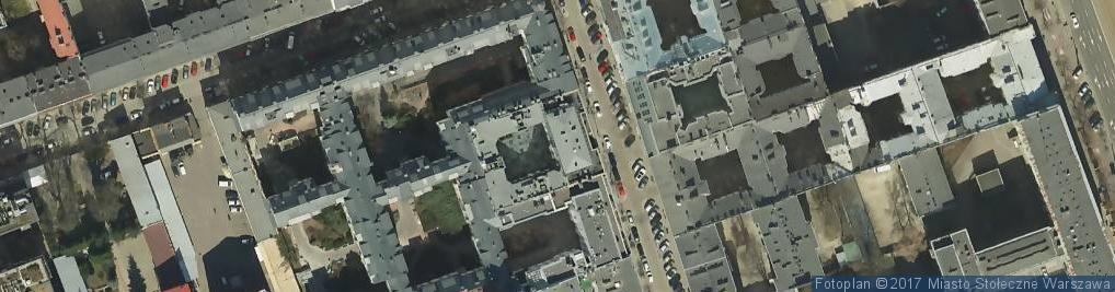 Zdjęcie satelitarne Związek Zawodowy Pracowników Przedsiębiorstwa Spedycji Międzynarodowej C Hartwig Warszawa w Warszawie