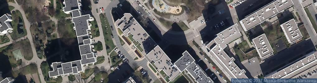 Zdjęcie satelitarne Niepubliczne Przedszkole 'żyrafki'