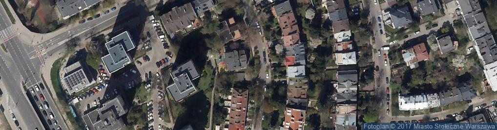 Zdjęcie satelitarne Niepubliczne Przedszkole Artystyczne 'Akademia Sztuk Dziecięcych'