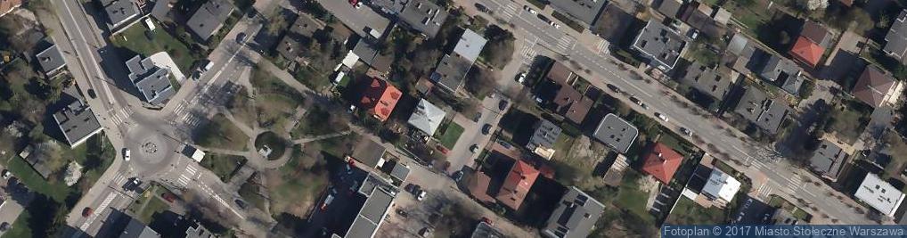 Zdjęcie satelitarne Publiczne Przedszkole Biedroneczka