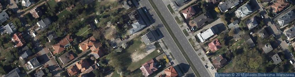 Zdjęcie satelitarne Rejonowo-Specjalistyczna
