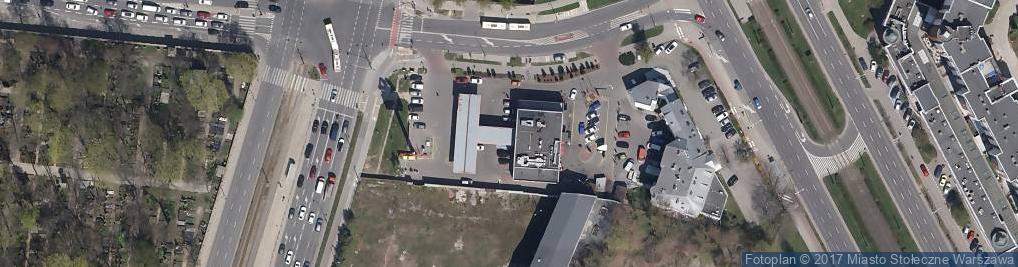 Zdjęcie satelitarne Wypożyczalnia Przyczepy