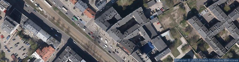 Zdjęcie satelitarne Psychotechnika Targowa 46