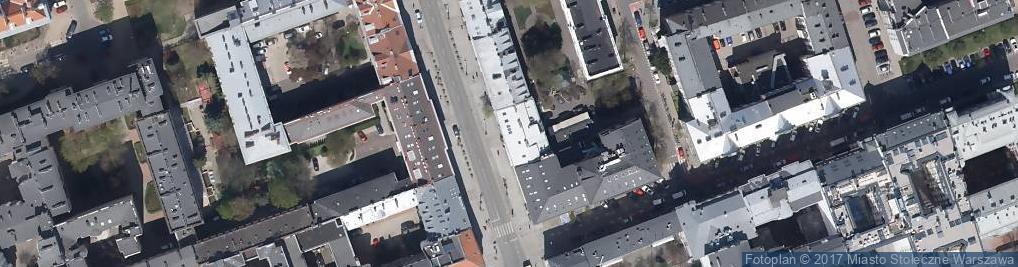 Zdjęcie satelitarne Szwalnia
