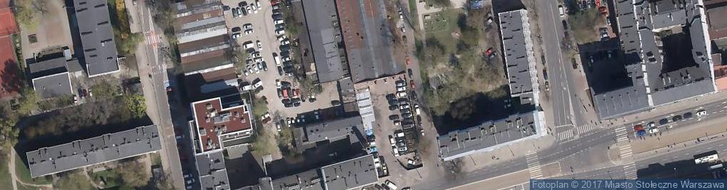 Zdjęcie satelitarne Auto-Kółko