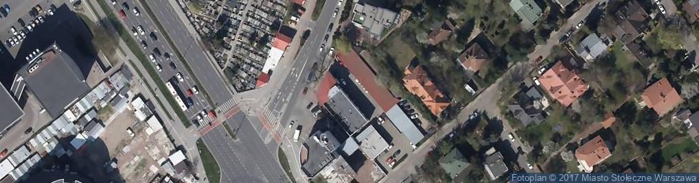 Zdjęcie satelitarne Restauracja Quattro Canti