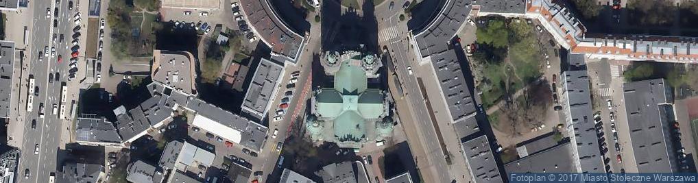 Zdjęcie satelitarne Najświętszego Zbawiciela