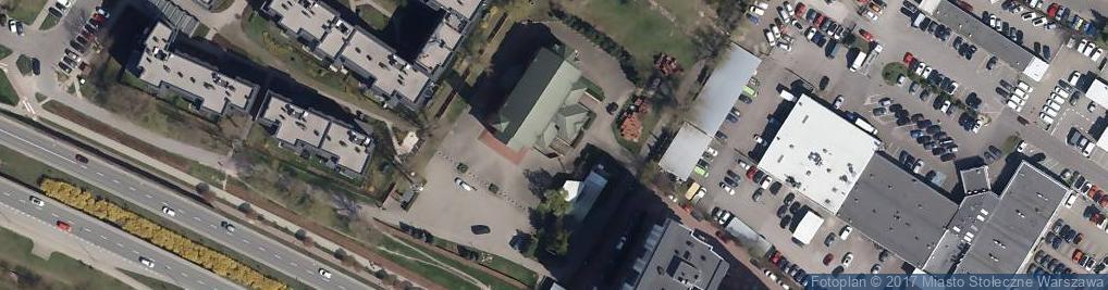 Zdjęcie satelitarne Św. Krzysztofa