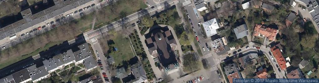 Zdjęcie satelitarne Św. Stanisława Kostki