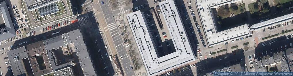 Zdjęcie satelitarne Sąd Rejonowy dla m.st. Warszawy