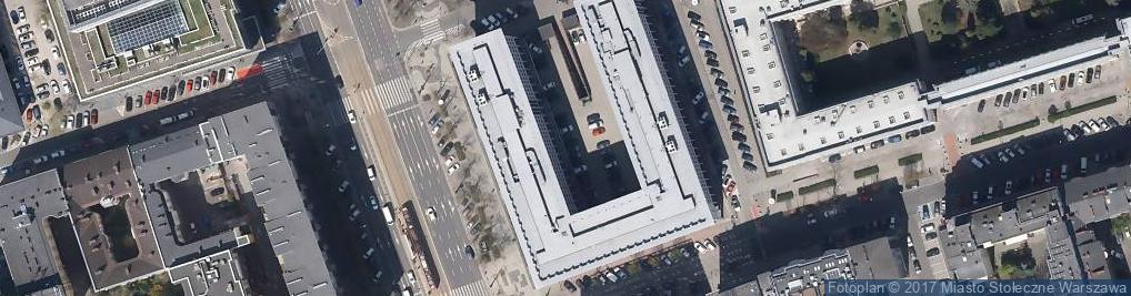 Zdjęcie satelitarne Sąd Rejonowy dla Warszawy-Śródmieścia