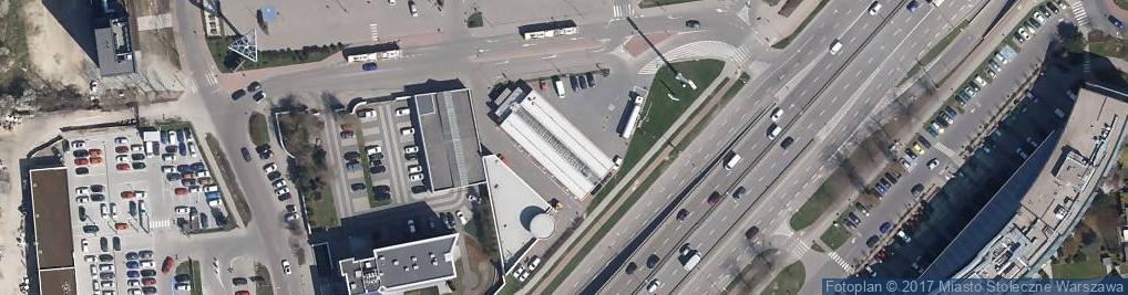 Zdjęcie satelitarne Shell - Stacja paliw