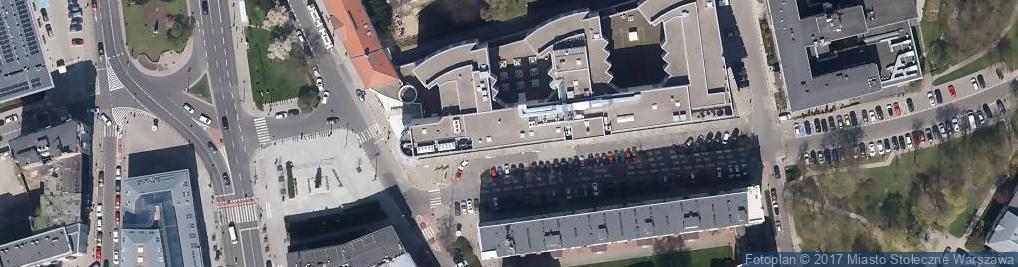 Zdjęcie satelitarne Sheraton Warsaw Hotel *****